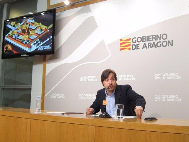 Nacho Escuín ha presentado este lunes los actos del Día de Aragón