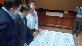 La restauración del Palacio de Carta costará más de dos millones de euros y podría albergar el cañón Tigre
