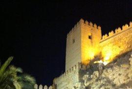 La nueva iluminación de La Alcazaba irá a la próxima reunión de la Comisión de Patrimonio