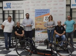 Jerez acoge este fin de semana el III Gran Premio Handbike