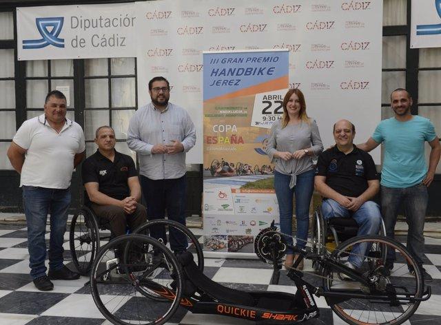 Presentación del III Gran Premio Handbike