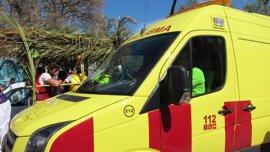 Sanidad refuerza los recursos de emergencias para garantizar la asistencia en el 'Bando de la Huerta'