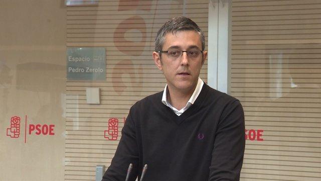 Madina presenta en Ferraz la candidatura de Díaz