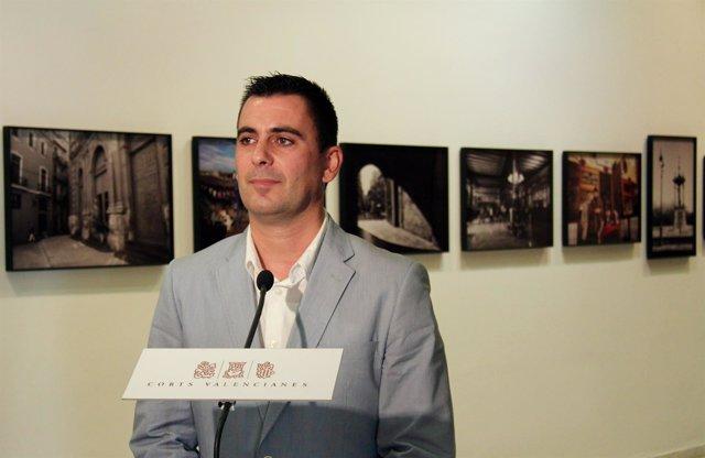 El diputado de Cs en las Corts Valencianes Toni Subiela