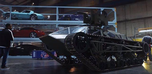 Tanque de Fast & Furious 8