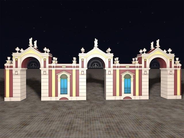 Portada inspirada en el Mercado Central de Almería