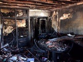 Dados de alta tres de los cuatro heridos en el incendio de Ciudad Jardín