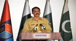 El portavoz del Ejército paquistaní, Asif Ghafoor