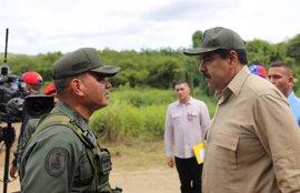 """Las Fuerzas Armadas manifiestan su """"lealtad institucional"""" a Maduro"""