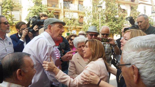 La presidenta de la Junta, Susana Díaz, visita Motril