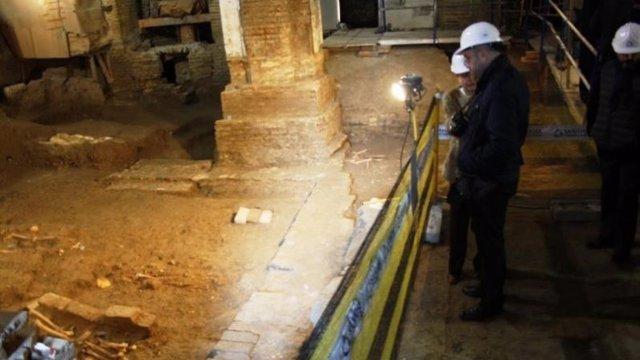 Arranca la última fase de la restauración de Santa Catalina.