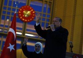 """Erdogan asegura que Turquía """"no ve, escucha ni reconoce"""" los informes de los observadores internacionales"""