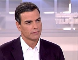 """Pedro Sánchez a las bases: Pueden apoyarle o refrendar el proyecto """"impuesto por las bravas"""" en su """"derrocamiento"""""""