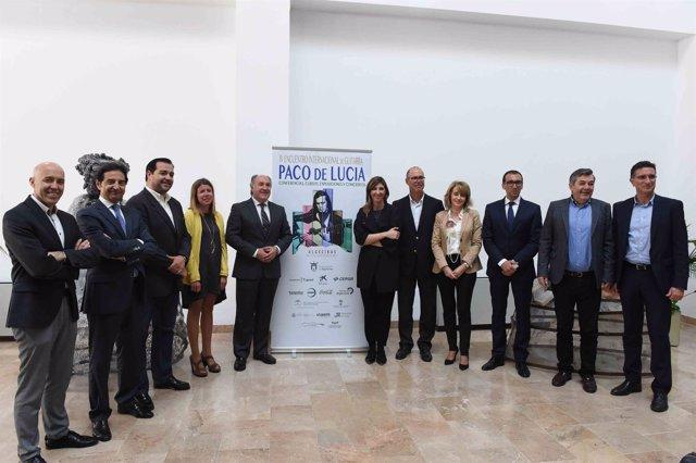 Algeciras presenta el IV Encuentro Internacional de Guitarra Paco de Lucía