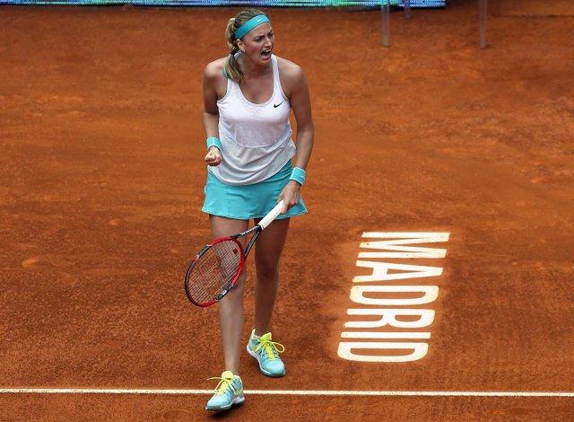 La checa Kvitova conquista su segundo título en Madrid
