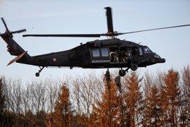 Muere una persona y otras dos resultan heridas tras estrellarse un helicóptero 'Black Hawk' cerca de Washington