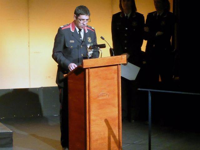 El comisario jefe de los Mossos d'Esquadra, Josep Lluís Trapero