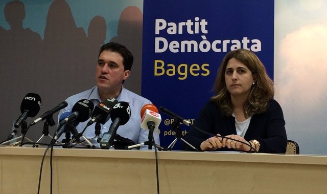 David Bonvehí y Marta Pascal (PDeCAT)