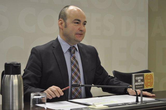 El diputado del PP en las Cortes de Aragón Fernando Galve