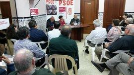 Constituidos grupos de apoyo a Patxi López en las ocho provincias andaluzas para la recogida de avales