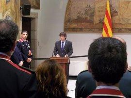 Puigdemont ve a los Mossos una policía europea y democrática al servicio de los catalanes