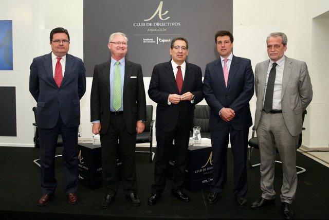 Merlín Properties en el Club de Directivos de Andalucía.