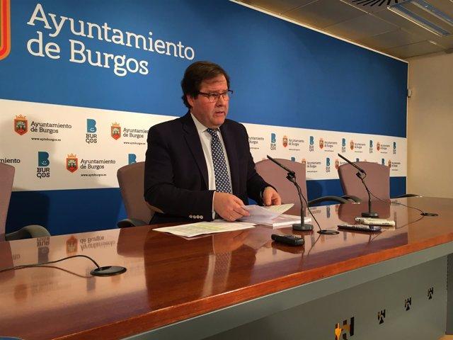 Concejal de Hacienda de Burgos, Salvador de Foronda.