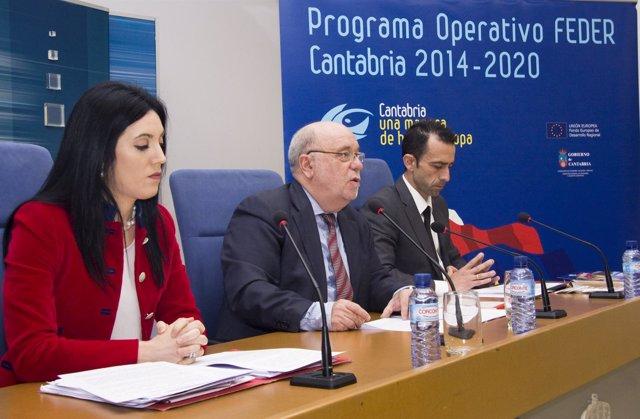 Presentación de la campaña de difusión de los fondos FEDER en azucarillos