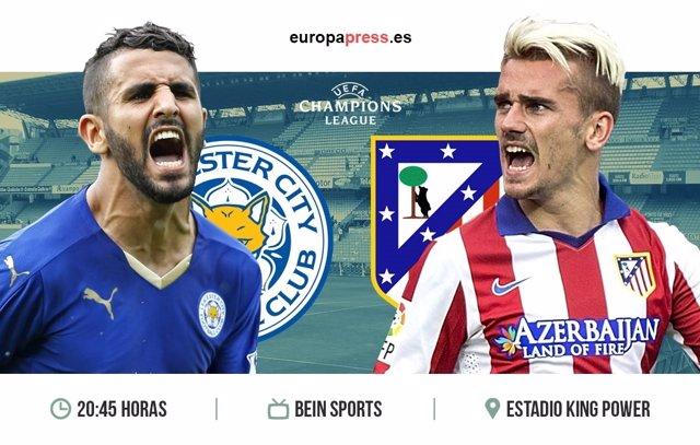 Horario y dónde ver el Leicester – Atlético de Madrid | Vuelta Cuartos de Final
