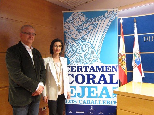 Jericó y Ladrero han presentado en la DPZ el XLVI Certamen Coral de Ejea