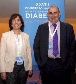 Relevo en la presidencia de la Sociedad Española de Diabetes