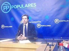 """PP C-LM denuncia un pacto """"oculto"""" entre David Llorente y García-Page"""