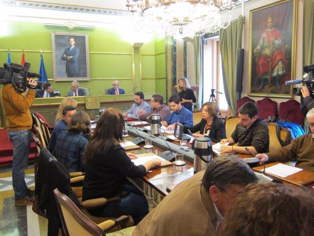 Somos Oviedo en el Pleno municipal