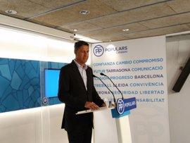 El PP explicará su proyecto en toda Catalunya pero no hará campaña por el 'no' al referéndum