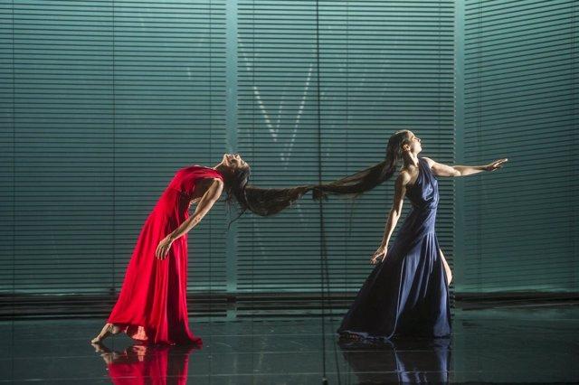 Blanca Li y Blanca Li en el montaje de danza 'Déesses et Démones'