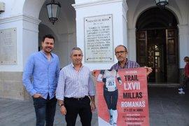 Unos 850 corredores participarán en las LXVII Millas Romanas de Mérida, que alcanzan su 19 edición
