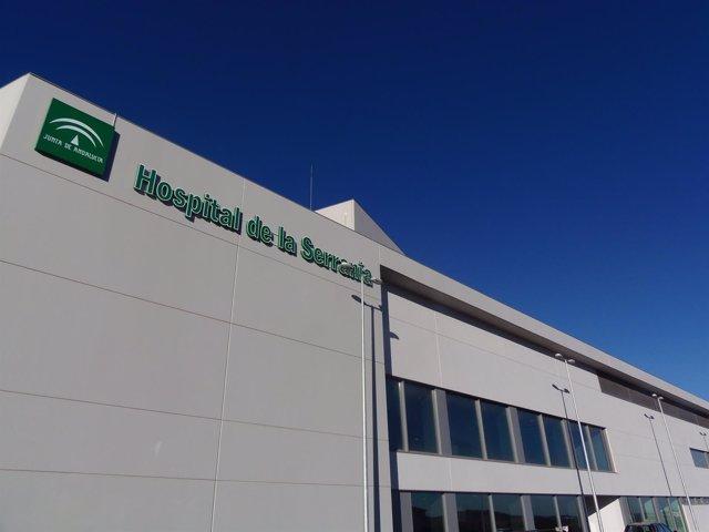 Fachada nuevo hospital de ronda serranía