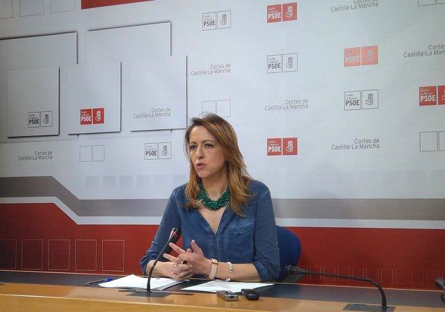 Portavoz regional del PSOE, Cristina Maestre