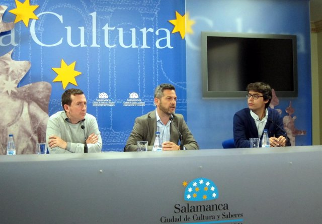 Salamanca. Imagen de la rueda de prensa
