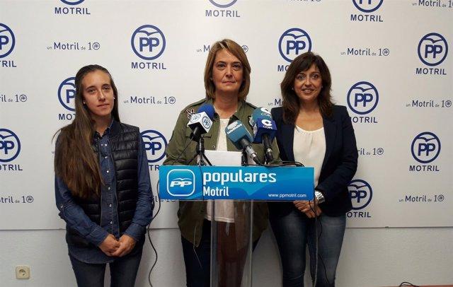 Luisa García Chamorro, en rueda de prensa