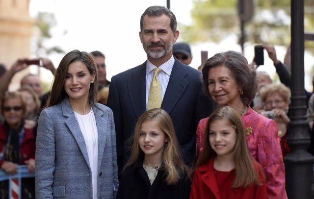 FAMILIA REAL EN PALMA