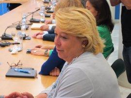 La diputada Josefa Aguado no acude a la comisión de la Deuda un día después de que el juez le atribuya tres delitos