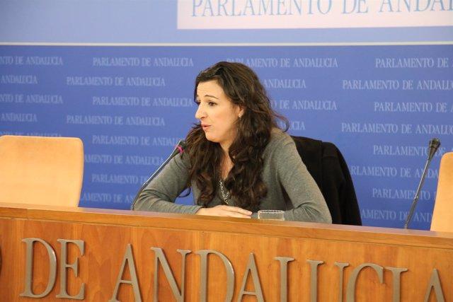 La portavoz de Educación de Podemos, Libertad Benítez