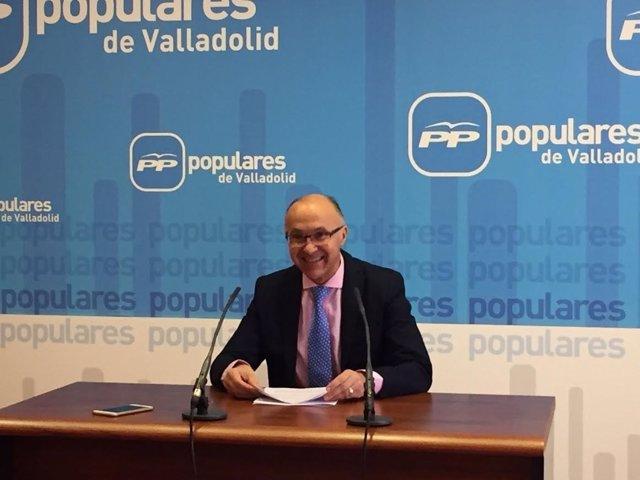 Valladolid. Presidente PP, Ramiro Ruiz Medrano