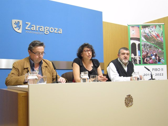 Clavero, Giner e Ibáñez han presentado el PIBO II en rueda de prensa este martes