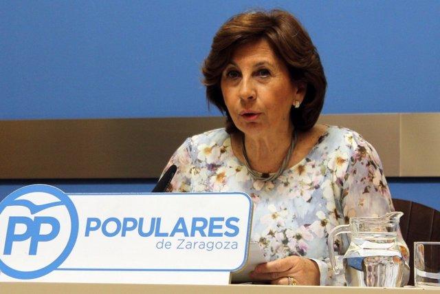 La concejal del PP en el Ayuntamiento, Reyes Campillo