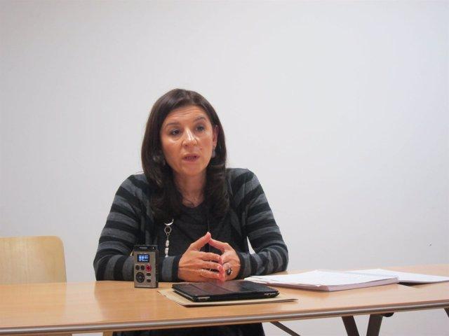 Carmen Maniega precandidata a la presidencia del PP y presidenta de PP Avilés