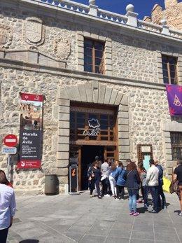 Acceso turístico a la muralla de Ávila