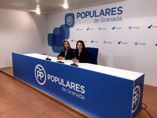 Nota, Foto Y Audio Rueda De Prensa Carmen Crespo Y Marifran Carazo