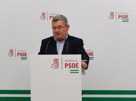 """El PSOE-A señala que Córdoba, Almería y Málaga son """"las últimas de España en inversión"""" en los PGE"""
